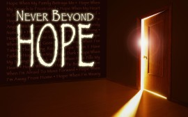 Never Beyond Hope Handout