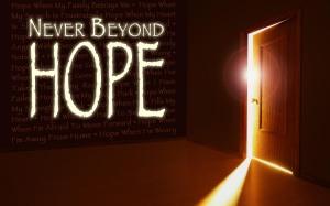 Never Beyond Hope Handout